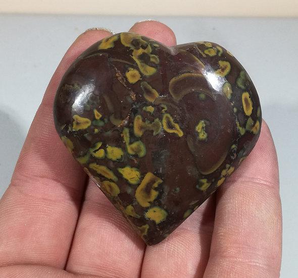 Fruit Jasper Heart 98g