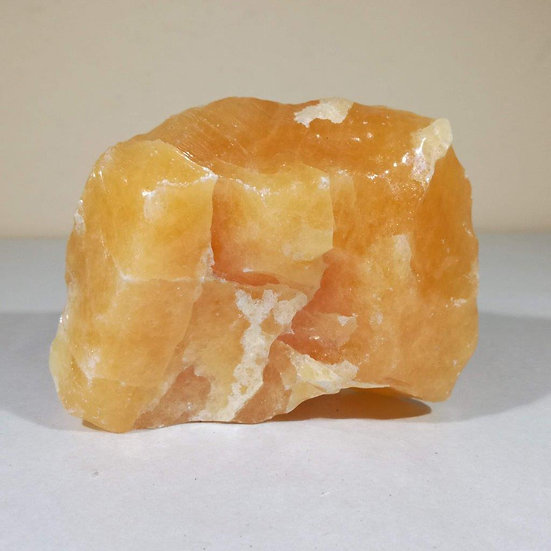 Orange Calcite Freeform 393g