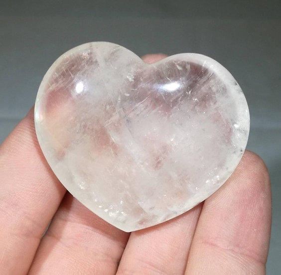 Optical Calcite Heart