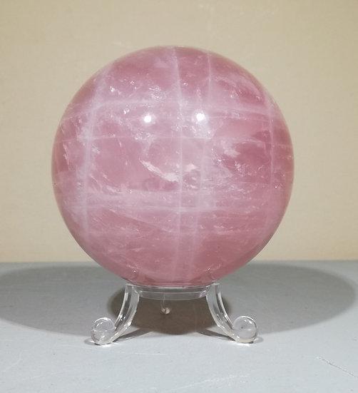 Rose Quartz Sphere 817g