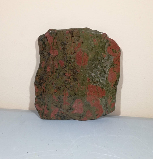 Unakite Slice (Polished)