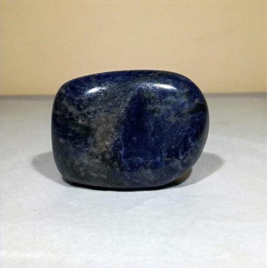 Sodalite Pebble (Therapy Stone) 161g