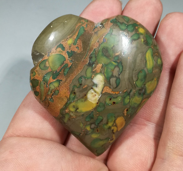 Fruit Jasper Heart 100g