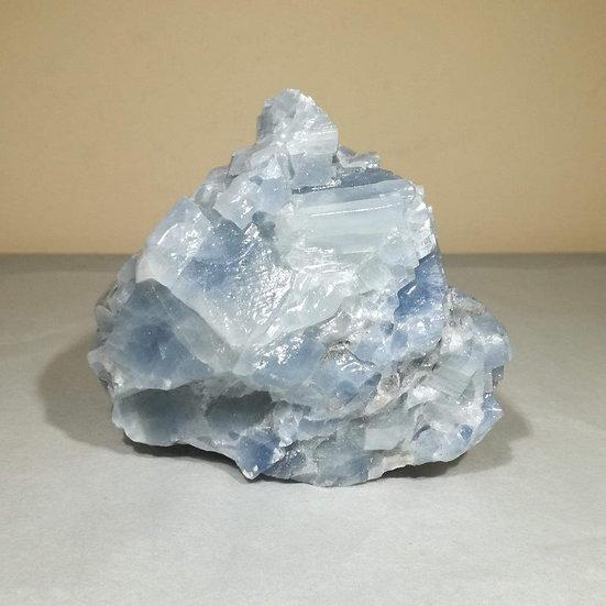 Blue Calcite Freeform 1.1KG