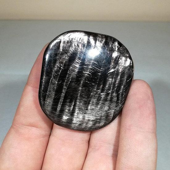 Premium Hypersthene Palmstone