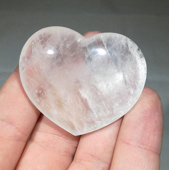 Optical Calcite Heart