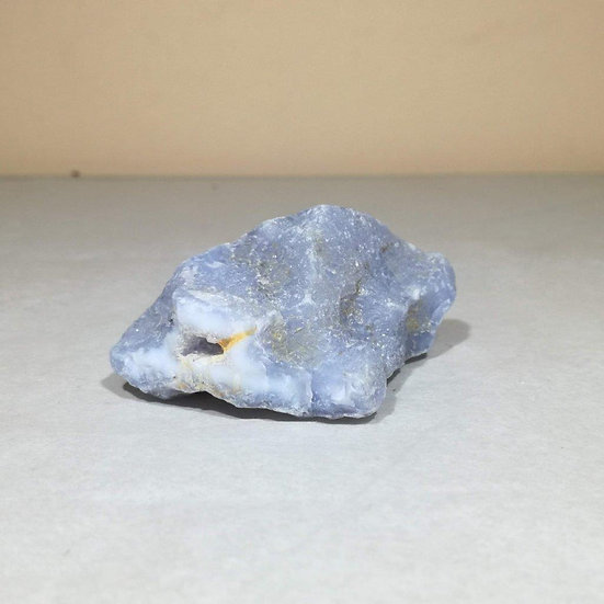 Natural Blue Lace Agate Crystal 63g