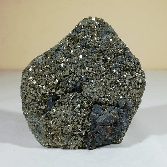 Free Standing Pyrite - Fools Gold With Chalcopyrite Freeform