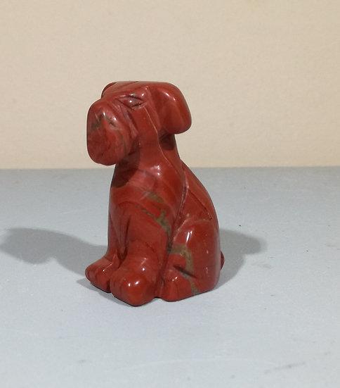 Red Jasper Dog