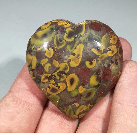 Fruit Jasper Heart 88g