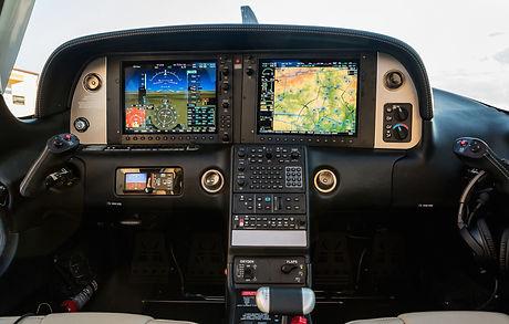 The dashboard sports a small aircraft na