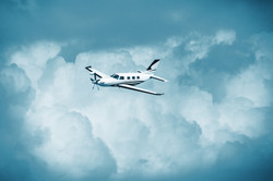 Single piston aircraft