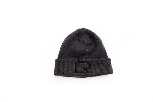 "New Era  Dark Gray ""LR"" Beanie"