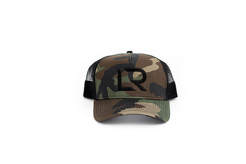 LR Camo Trucker Snap Back