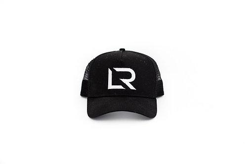 LR Black Trucker Snap Back