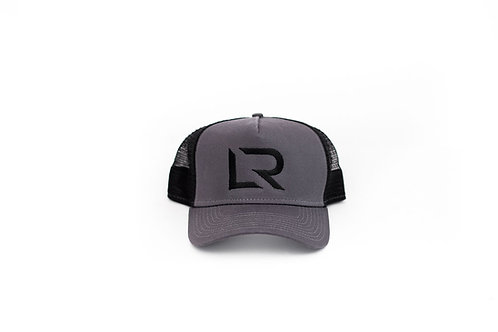 LR Gray Trucker Snap Back