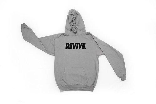 Gray Revive Hoodie