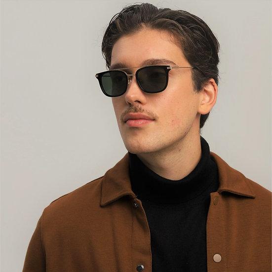 Lavunett designer sunglasses for men with polarised, anti-UVs lenses