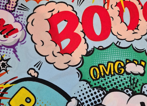 Cartoon crash, pow, bang