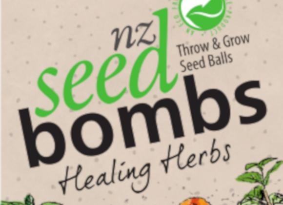 NZ Seed bomb - Healing Herbs