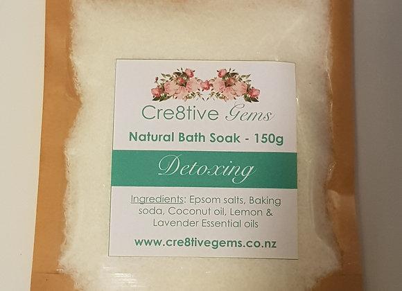 Bath Soak - Detoxing