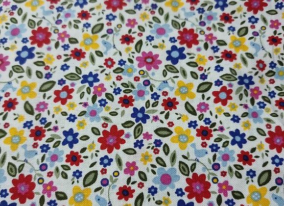 Colourful mini flowers