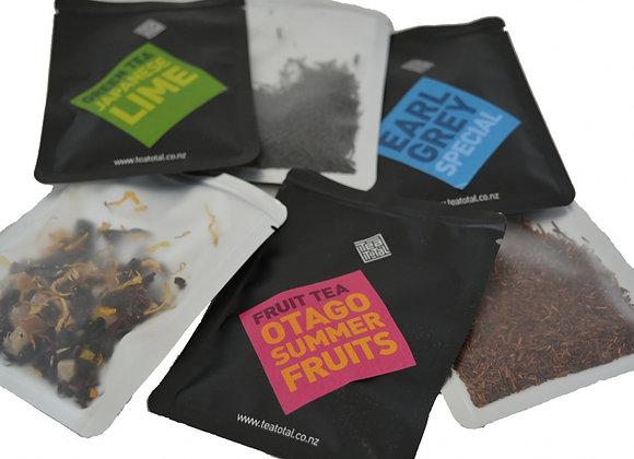 6 x tea sample packs & diffuser