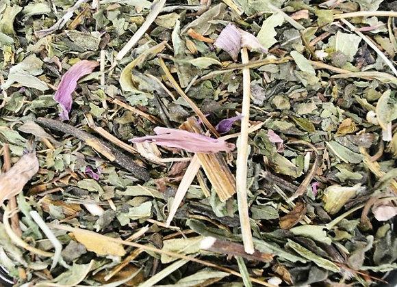 Echinacea and Peppermint tea
