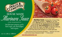 Dolce & Clemente Jar Label