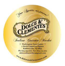 Dolce & Clemente Bakery Label