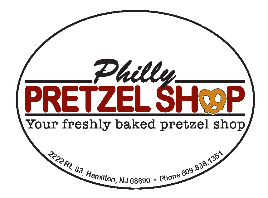 Philly Pretzel Shop Label