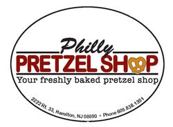 Philly Pretzel Shop Label