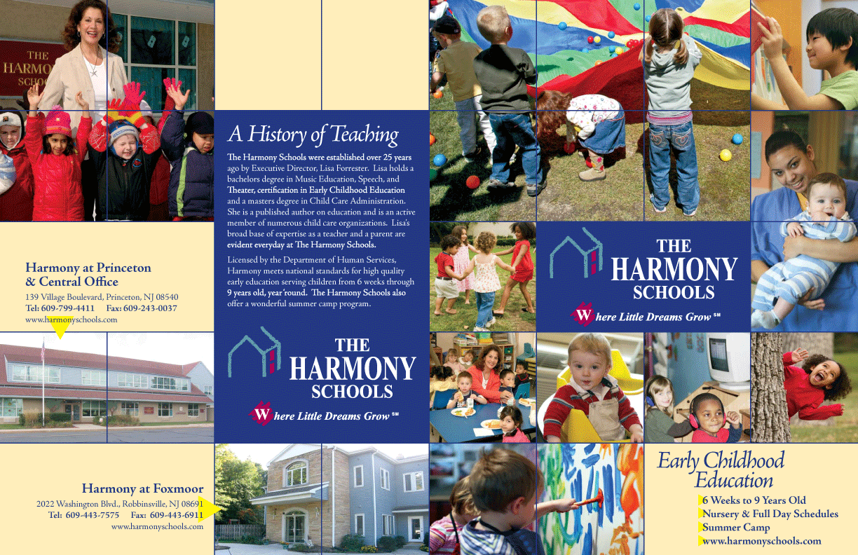 Harmony School Brochure