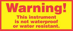 Pine Environmental Warning Label