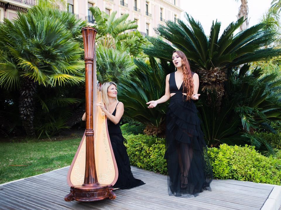 Cécile Bonhomme harpiste nice cannes