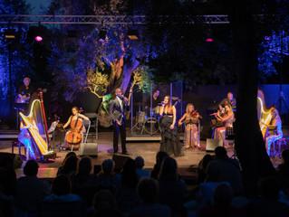 Concert au Domaine Renoir/Harpsody Orchestra