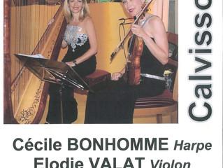 Concert Harpe et Violon le 16 décembre 2017