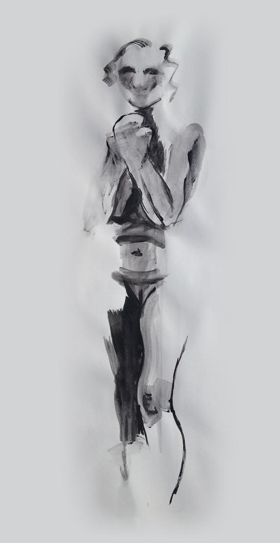 Life Ink Drawing 9