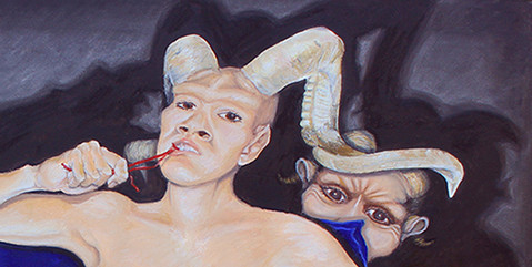 CHILLIN WITH MY DEMONS DETAIL