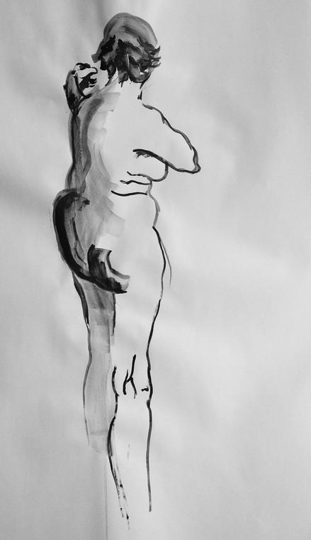 Life Ink Drawing 10