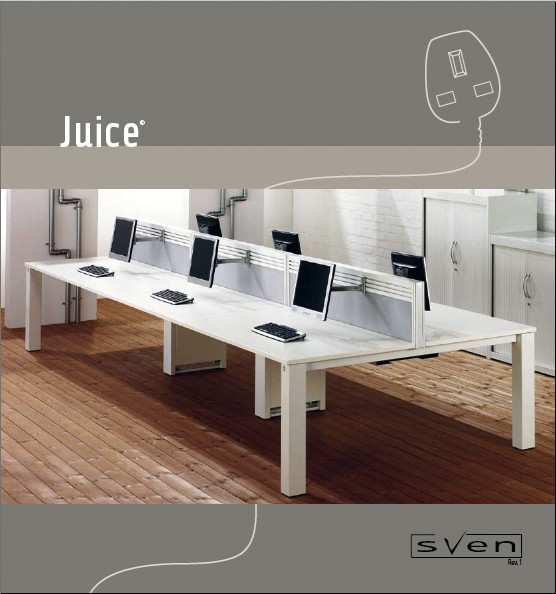 JUCIE OFFICE FURNITURE BROCHURE COVER