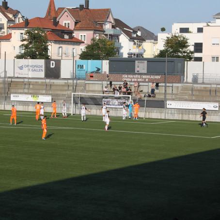 Punkteteilung gegen den FC Wil 1900 2