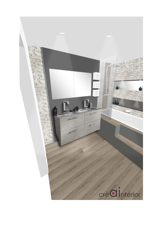 Projet perspective salle de bain