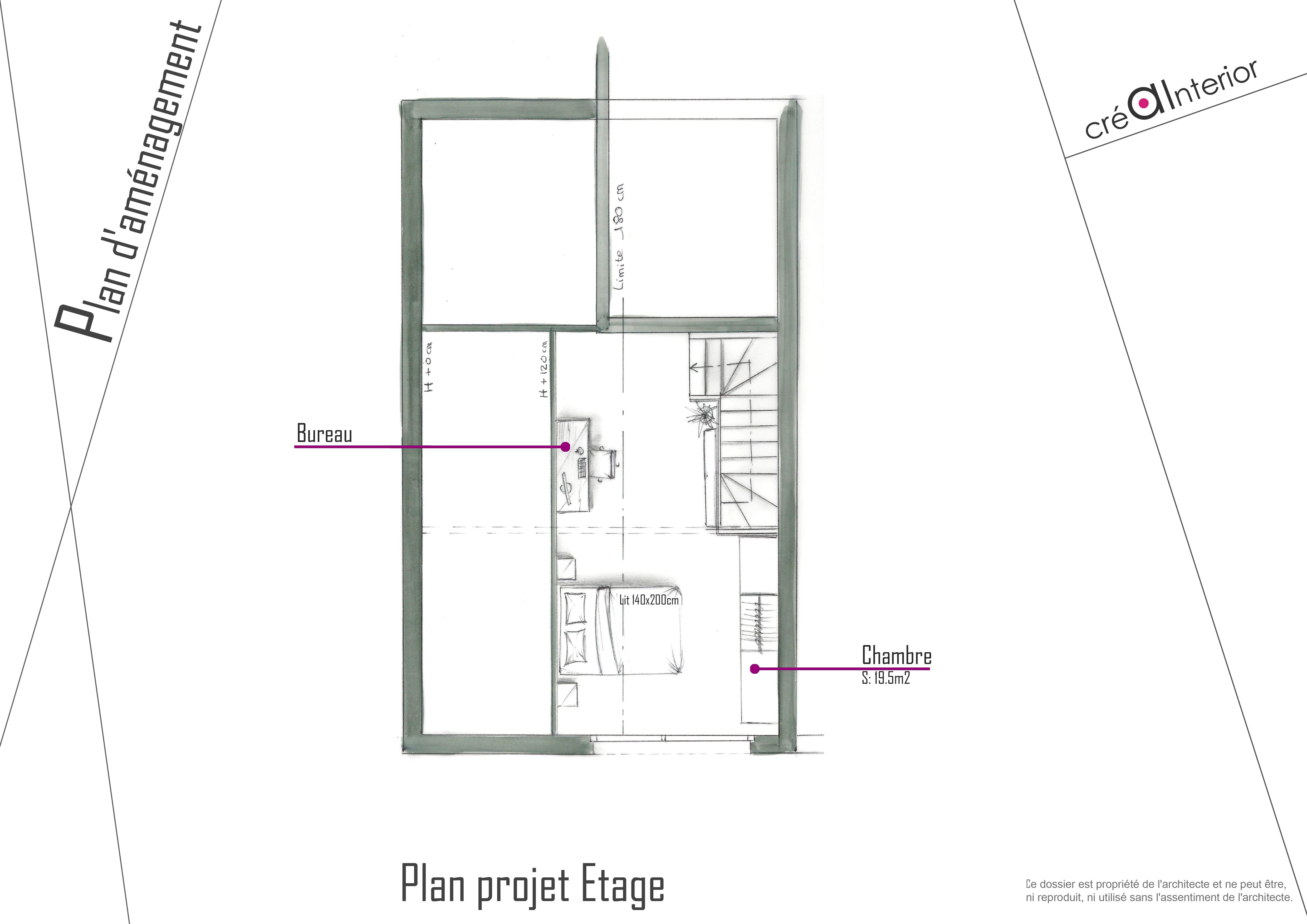 Plan projet Etage