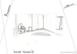Projet hall d'entrée