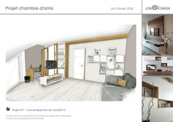 Projet chambre amis