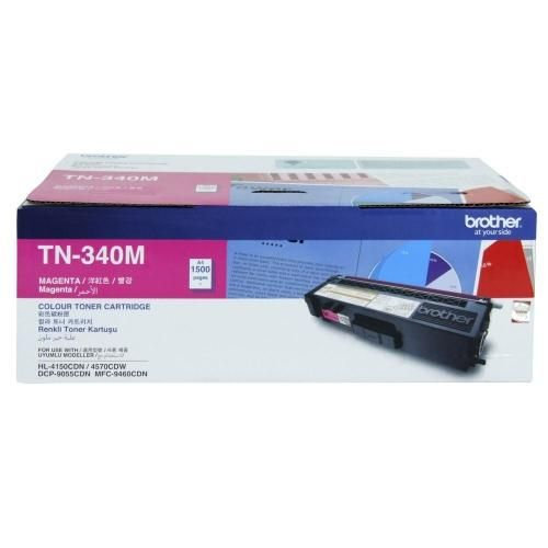 Brother TN-340M Standard Color Toner Cartridge (1500 pages)