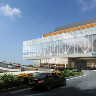 Renasant Convention Center Rendering Fro