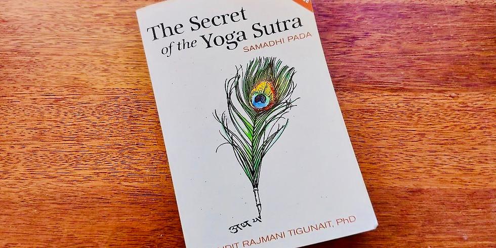 Sacred Yoga Sutras of Patanjali