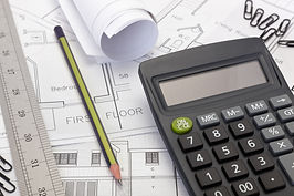 House plans with calculator for costing